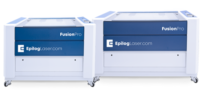 fusion pro large format machines co2 and fiber lasers
