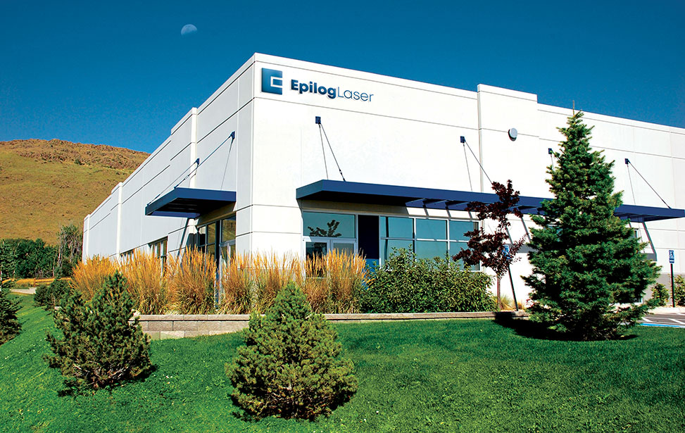 Epilog Laser headquarters building in Golden Colorado, USA