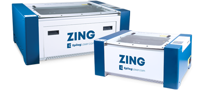 epilog zing laser cutter small portable format machines